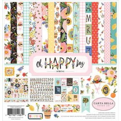 PAD Carta Bella Oh Happy Day 12x12 Inch Collection Kit 30X30 CM