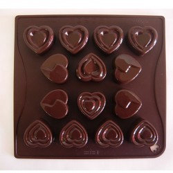 Stampo CHOCO-ICE WITH LOVE