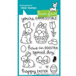 Timbro in silicone Lawn Fawn Special Easter