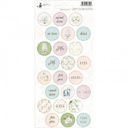 Piatek - Party Stickers 02 - Truly Yours