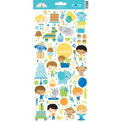 Stickers Adesivo icone Doodlebug Design Party Time