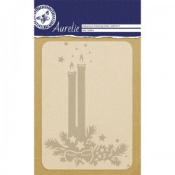 Embossing Holy Candles 10,6 cm x 15 cm