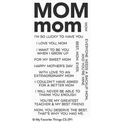 TIMBRI MY FAVORITE THINGS ALL ABOUT MOM