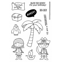 """Timbro Clear Stamps """"AHOY """""""