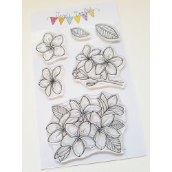 """Timbro Clear Stamps """"PLUMERIA """""""