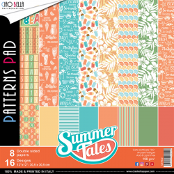 Pad Carte - SUMMER TALES COLLECTION double face