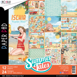 Pad Carte - SUMMER TALES COLLECTIONdouble face