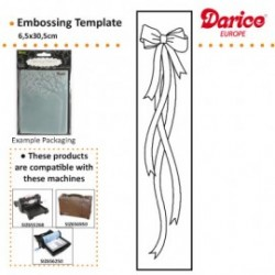 Darice ® ??Embossing Folder - Bow With Ribbon