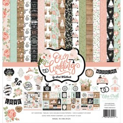 Echo Park Our Wedding 12x12 Inch Collection Kit