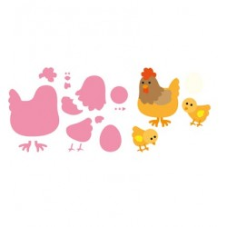 Marianne Design-Collectables Mother hen