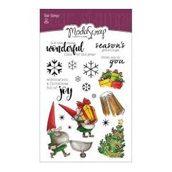 Chariot Of Joy Clear Stamps ModaScrap