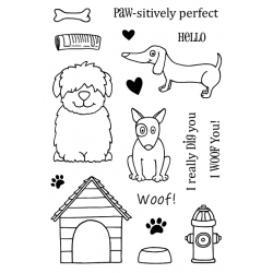 """Timbro Clear Stamps """"CANI """""""