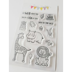 """Timbro Clear Stamps """"SELVAGGIO """""""