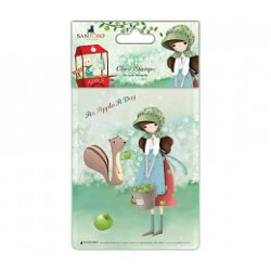 Timbro Clear Stamps Apple A Day – Girl